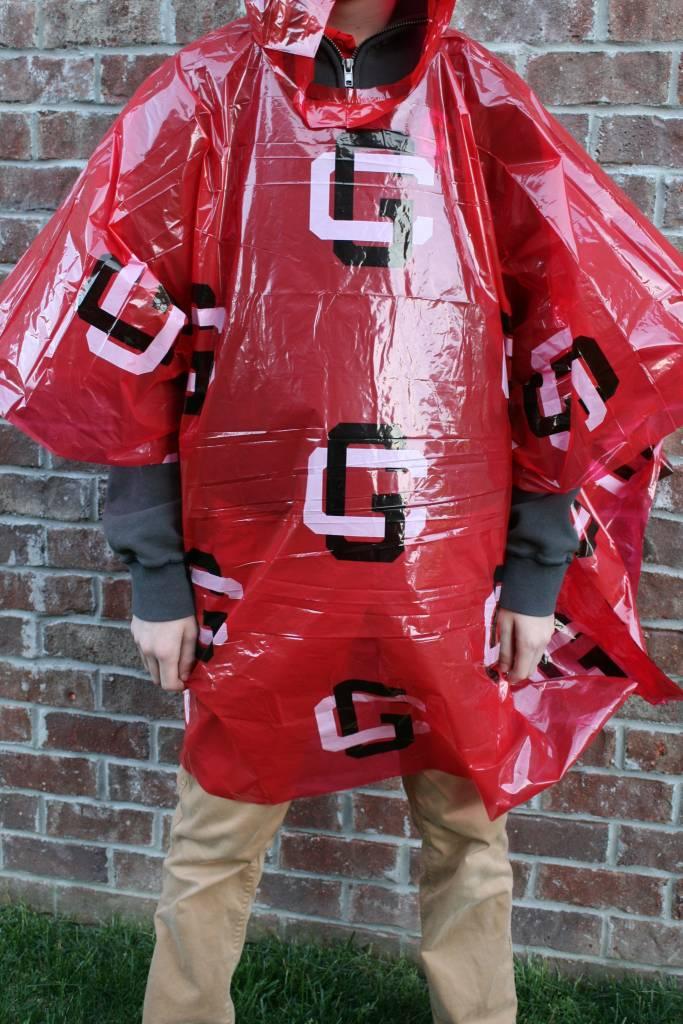 Storm Duds Disposable Rain Poncho