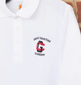 A+ Youth Pique Uniform Polo