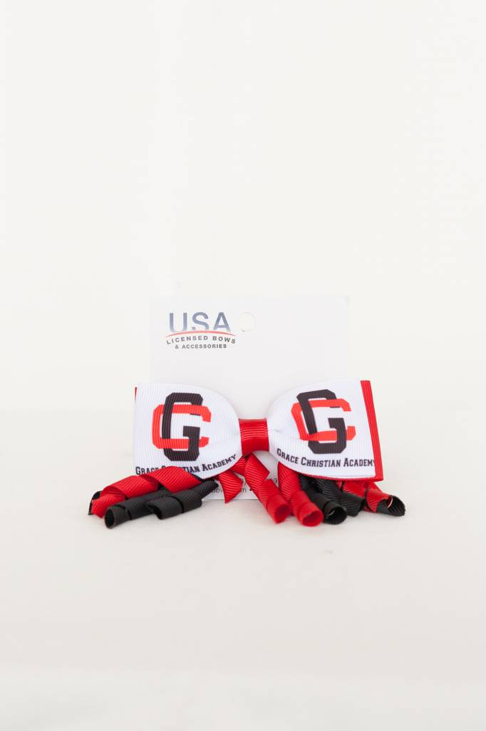 USA Licensed Hair Bows GCA Spyro Bow