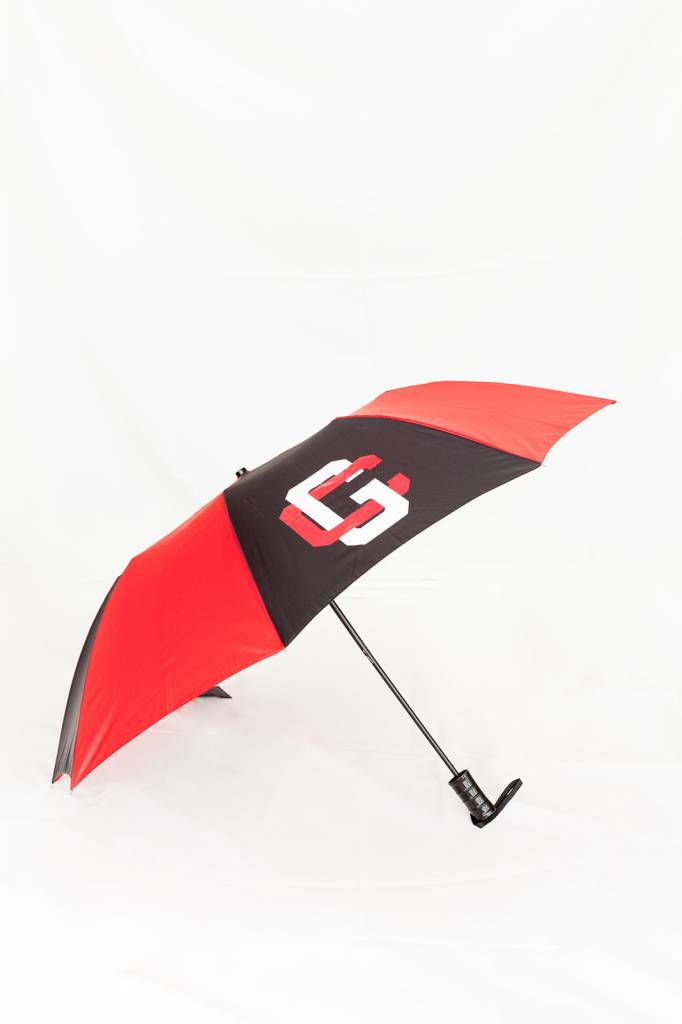 Storm Duds Sporty Two-Tone Folding Umbrella