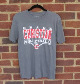 Blue 84 Volleyball Grey T-Shirt