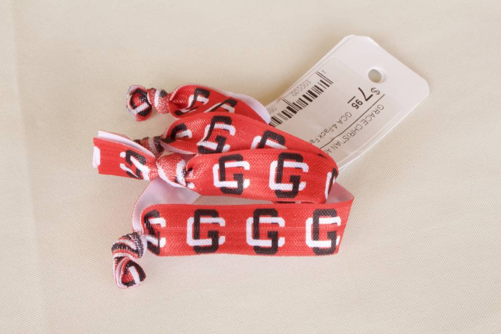 USA Licensed Hair Bows GCA 4-Pack Fan Bands