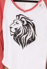 Ladies Raglan Lion
