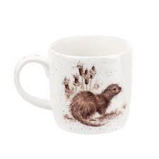 Wrendale Designs 'River Gent' (Otter) Mug