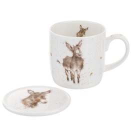 Wrendale Designs 'Gentle Jack' Mug & Coaster Set
