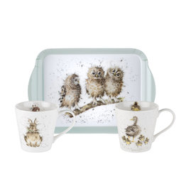 Wrendale Designs 'Baby Animals' Mug and Tray Set