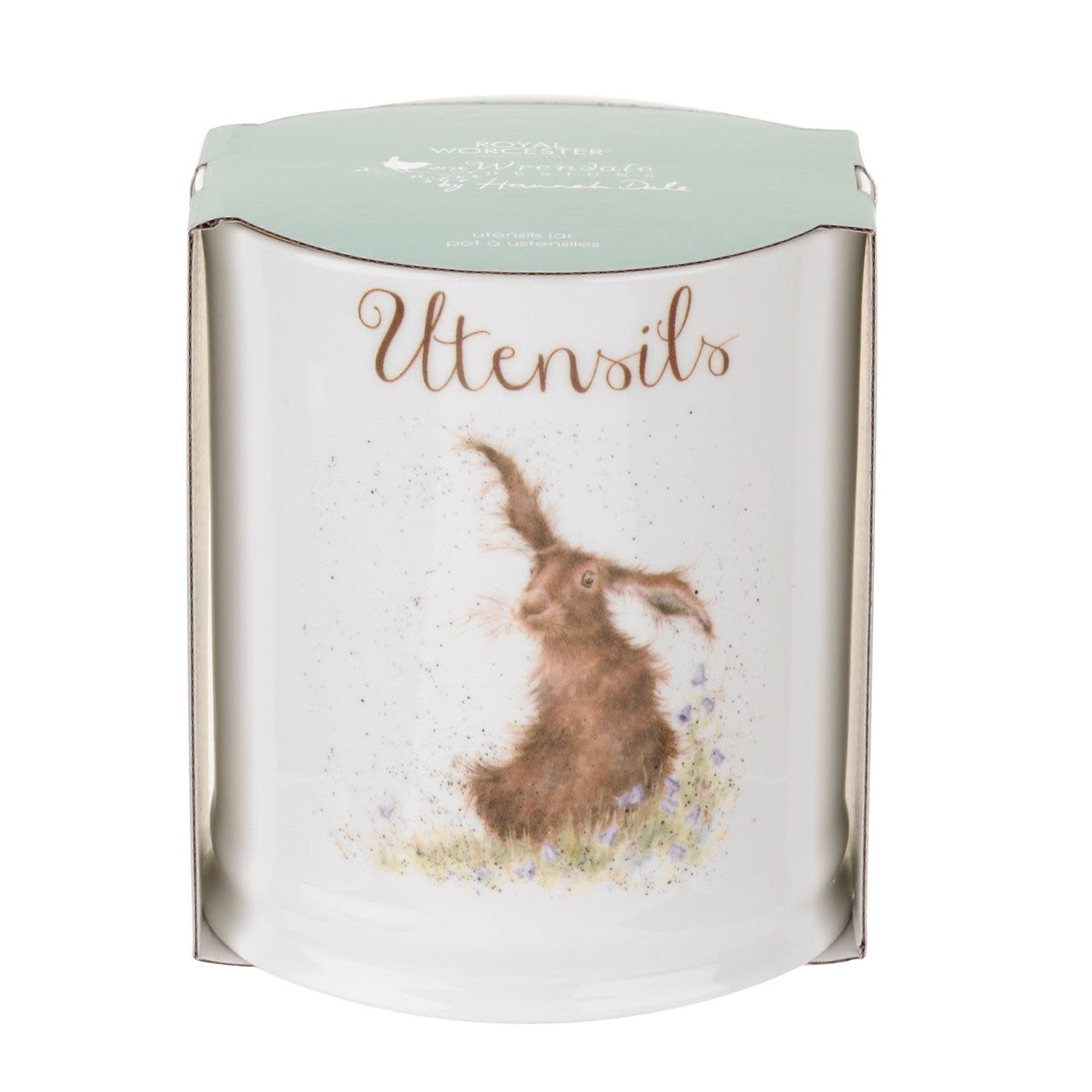 Wrendale Designs Utensil Jar (Hare)