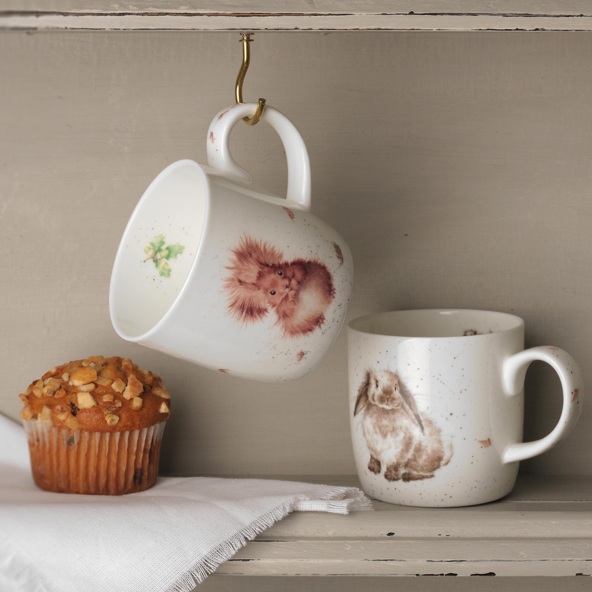 Wrendale Designs 'Treetops Redhead' Mug