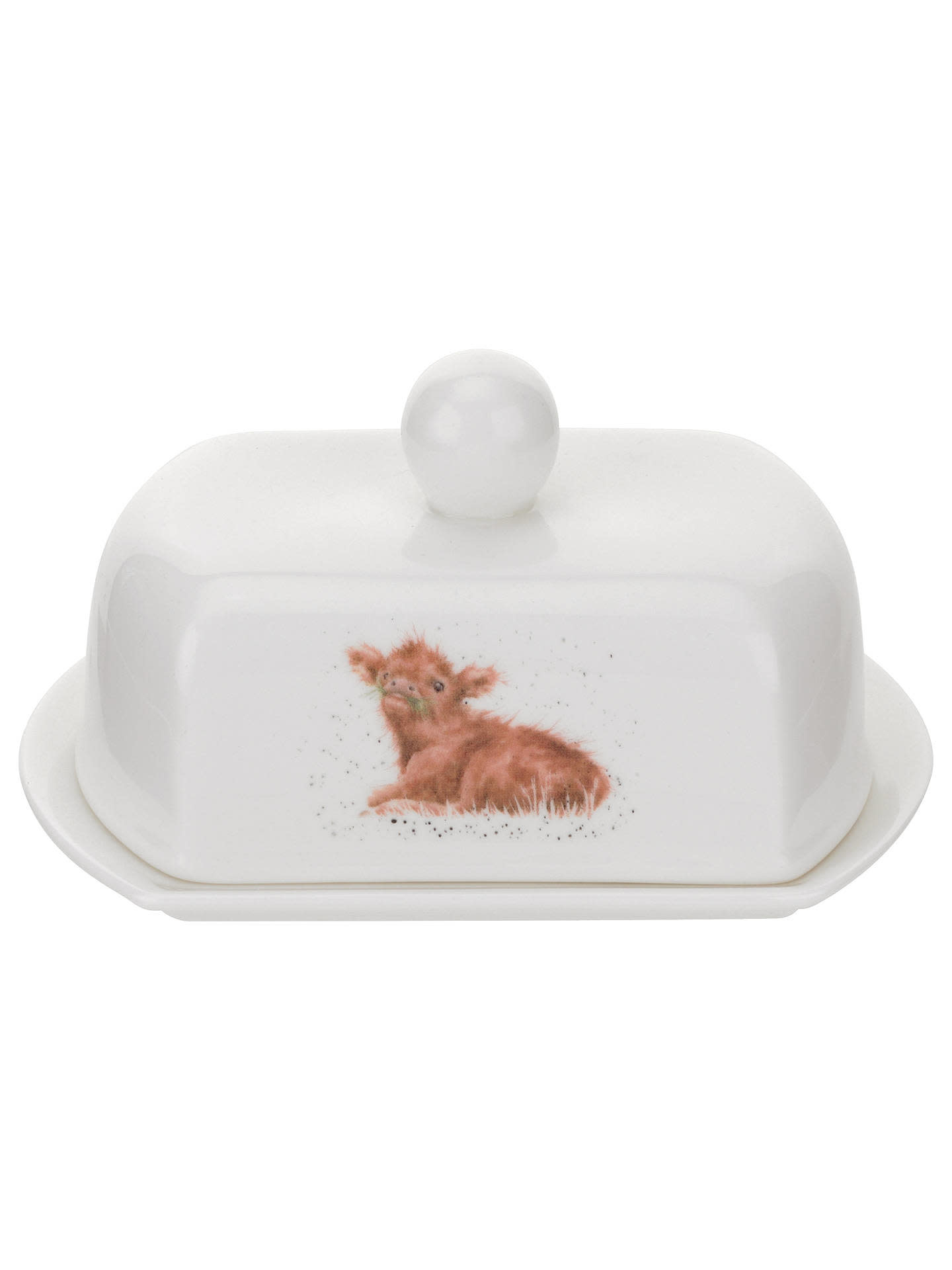 Wrendale Designs WRNDL Covered Butter Dish (Calf)