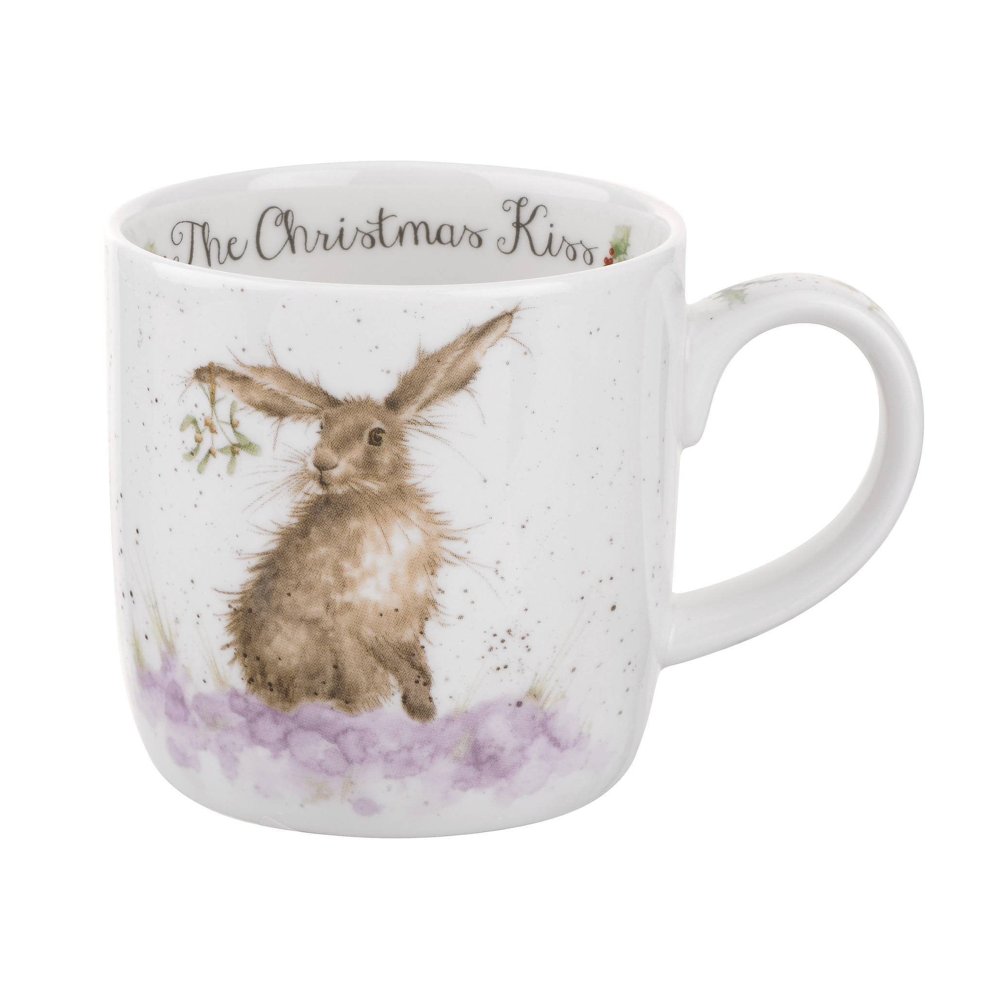 Wrendale Designs 'Christmas Kiss' Mug
