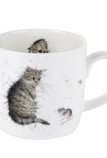 Wrendale Designs 'Cat and Mouse' Mug