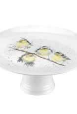 Wrendale Designs 'Birds' Footed Cake Plate