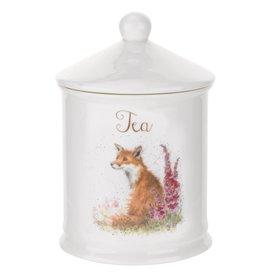 Wrendale Designs 'Fox' Tea Canister