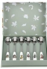 Wrendale Designs Set of 6 Tea Spoons