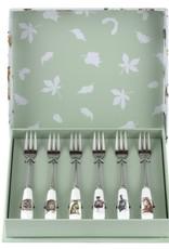 Wrendale Designs Set of 6 Pastry Forks