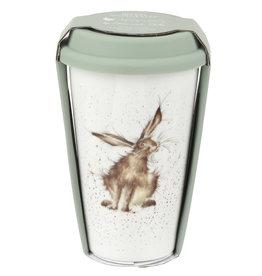 Wrendale Designs 'Good Hare Day' Travel Mug