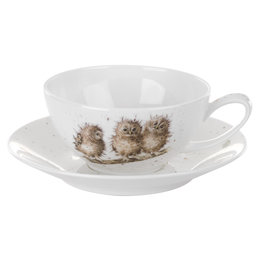 Wrendale Designs Cappuccino Cup and Saucer