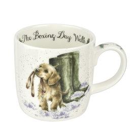 Wrendale Designs 'Boxing Day Walk' Mug