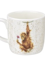 Wrendale Designs 'Orangutangle' Mug
