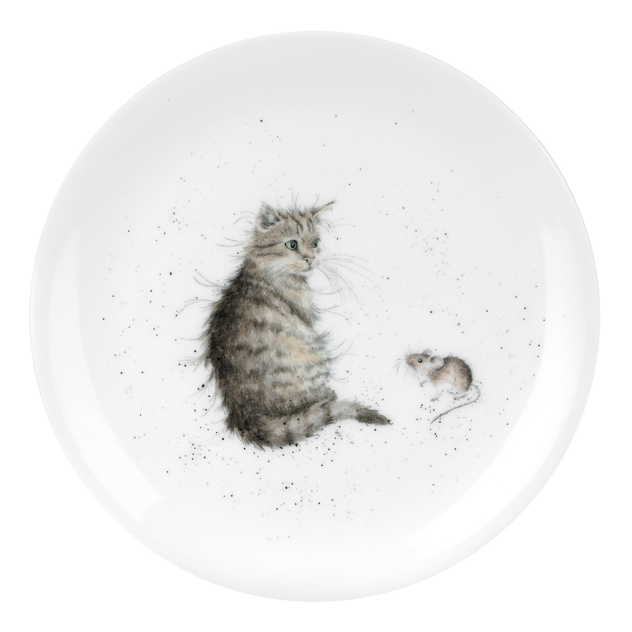 Wrendale Designs 'Cat and Mouse' Plate