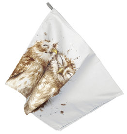 "WRNDL Tea Towel 18"" x 29"" - Owls"