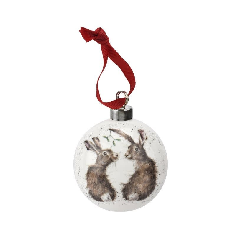 Wrendale Designs 'All I want for Christmas' Christmas Bauble