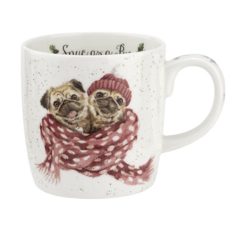 Wrendale Designs 'Snug as a Pug' Mug