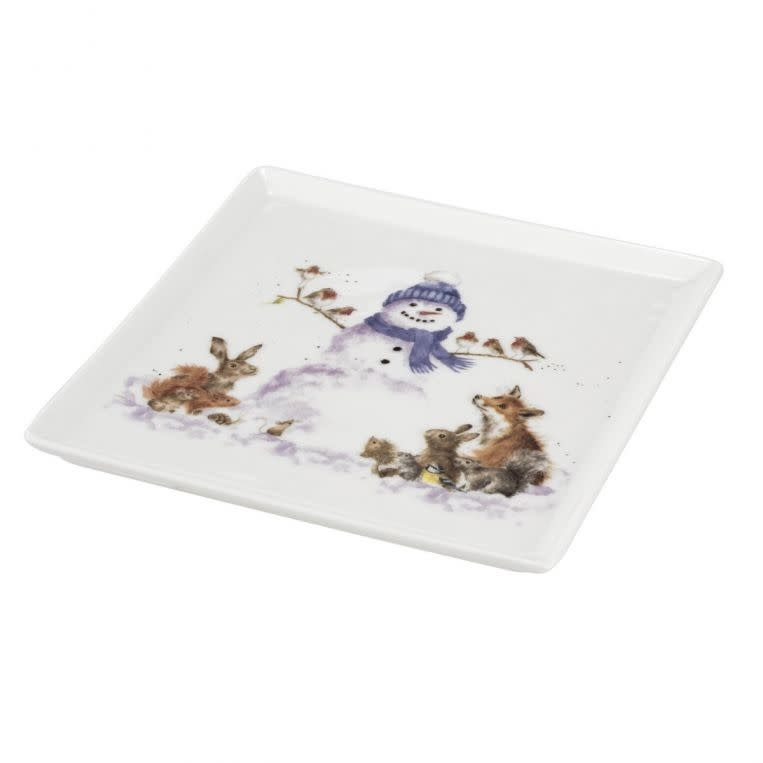 Wrendale Designs 'Gathered All Around' Square Plate