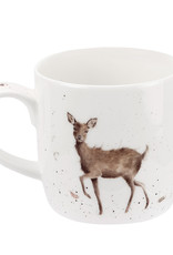 Wrendale Designs 'Wild At Heart' Mug (Stag)