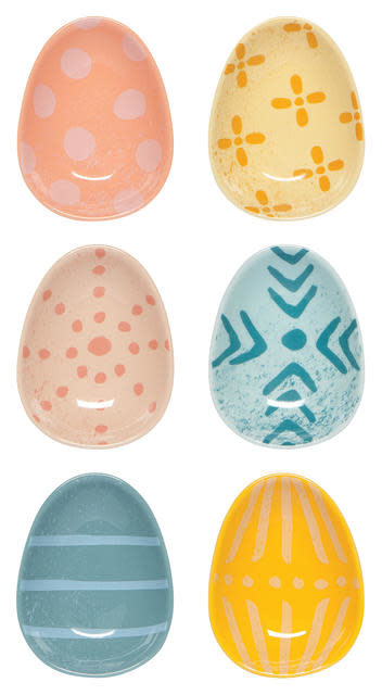 Now Designs Pinch Bowls S/6 - Easter Egg