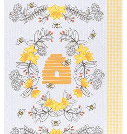 Now Designs Bees S/2 Kitchen Towel