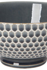 "Now Designs Honeycomb Blue 8"" Serving Bowl"