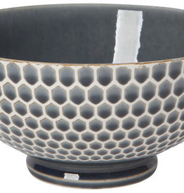 Now Designs Honeycomb Serving Bowl - Blue - 8""