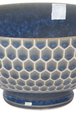 "Now Designs Blue Honeycomb Bowl - 6"""