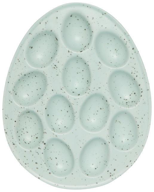 Now Designs Deviled Egg Tray - Robin Blue