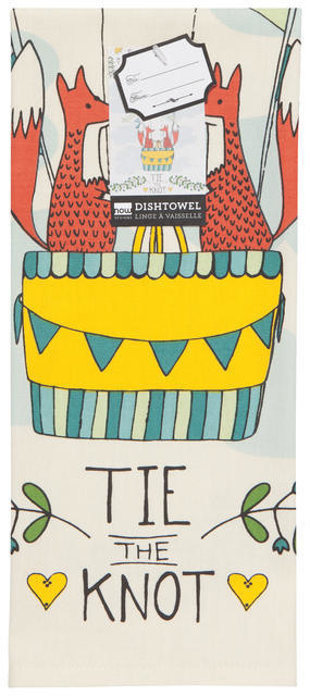 Now Designs Tie The Knot Dish Towel