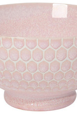 """Now Designs Honeycomb Pink 6"""" Cereal Bowl"""
