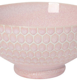 Now Designs Honeycomb Cereal Bowl - Pink - 6""
