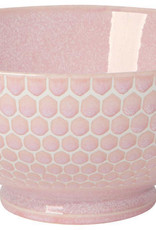 """Now Designs Serving Bowl 8"""" - Honeycomb Pink"""