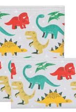 Now Designs Snack Bags S/2 Dandy Dinos