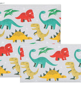 Now Designs Dandy Dinos Snack Bags -  S/2