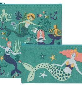 Now Designs Mermaids Snack Bags - S/2