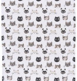 Now Designs Cats Meow Dishtowel