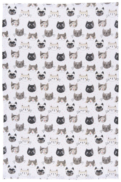Now Designs Tt - Cats Meow Prnt