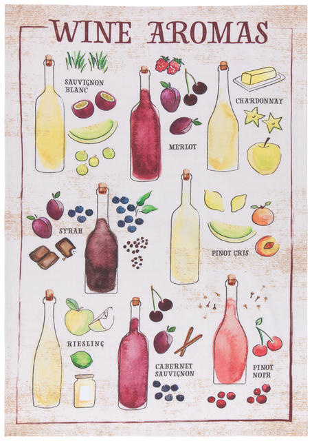 Now Designs Wine Aromas Tt.