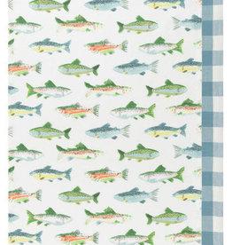 Now Designs Gone Fishin  S/2 Kitchen Towel