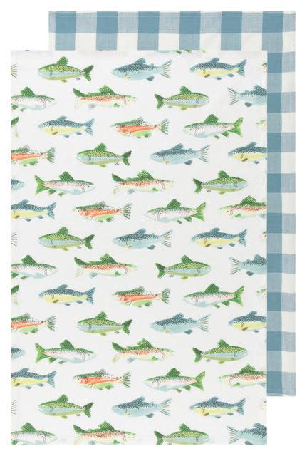 Now Designs Gone Fishin Tt S/2