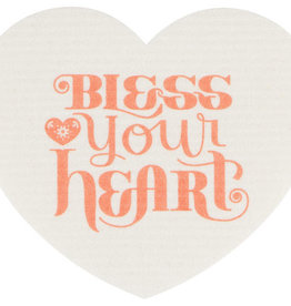 Now Designs Swedish Dishcloth - Bless Your Heart