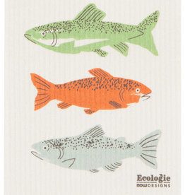 Now Designs Swedish Dishcloth - Gone Fishin