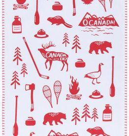 Now Designs O Canada Dishtowel